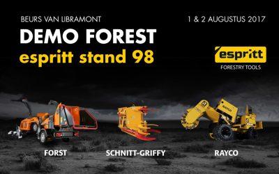 Espritt op Demo Forest  – 1 & 2 aug 2017
